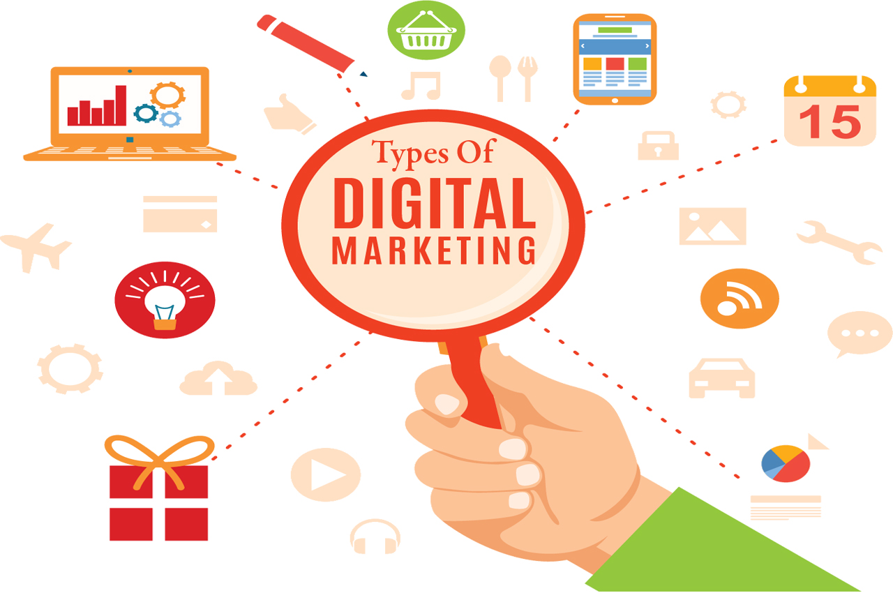 Different types of digital marketing services